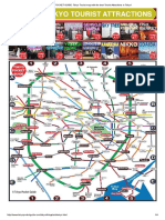 TOKYO POCKET GUIDE_ Tokyo Tourist Map With the Best Tourist Attractions in Tokyo!