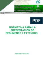 Normativa Congreso Redieluz 2015