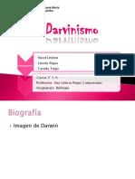 teoria de Darwin DARVINISMO