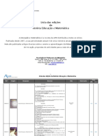 Matematica e Jogo Na Educacao e - Several Authors