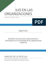 2. Individuo en Las Organizaciones
