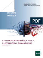 Literatura de la ilustración y el romanticismo