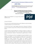 Dire EP Sur Le Projet de PLU Version 5 JP 2-10-2010