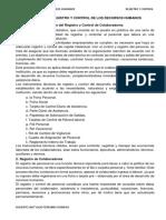 SEMANA 10 - Proceso de Registro y Control de Los RRHH(1)