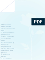 Dreamers Manifesto