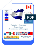 Acuerdos y Tratados Comerciales Negociados por Nicaragua 2015.pdf