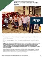 23-05-2018 Inauguran Héctor Astudillo y Luis Felipe Puente La Reunión Nacional de Protección Civil.
