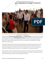 24-05-2018 Astudillo Flores Inaugura Empacadora de Mango en Guerrero.