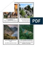 FLASH CARD de Lugares Turisticos de Guatemala