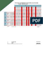 Jadwal Agustus 2018 PKM