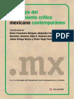 Antologia del pensamiento crítico Mexicano contemporáneo.pdf