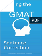Hacking the GMAT Sentence Correction (Good One)