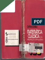 Matemática Clássica Vol. 3 - Griffiths e Hilton
