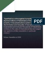Israel an Apartheid State