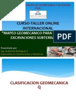 Mapeo Geomecánico - Q Barton