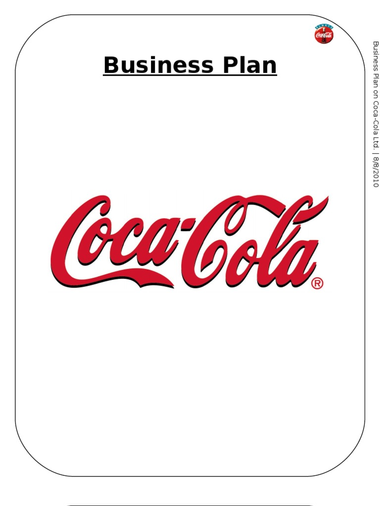 coca cola business plan pdf