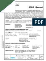 1.0- Ficha de Datos de Segurdad Ozono Ozonia