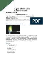 GUÍA DE LABORATORIO DE QUÍMICA  III PERIODO  7°