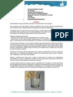 Descripción y Caracterización Del Agua