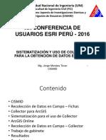 Uso de Collector Toma de Datos en Campo - Morales Jorge