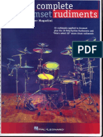 Peter Magadini - The Complete Drumset Rudiments