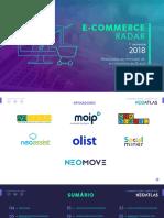 Radar E-commerce - 1º Semestre 2018