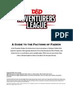 Ddal Faction Guide v701