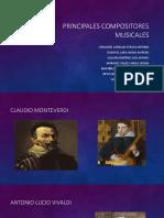 Principales Compositores Musicales