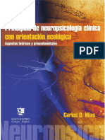 Principios de neuropsicología clinica con orientacion ecologica