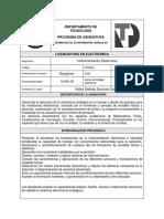 PLANEACION ASIGNATURA 2018-II InstrumentacionElectronica