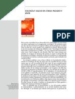 Sociología y Salud en Chile Pasado y Presente