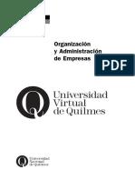 Carpeta Organizacion y Administracion de Empresas