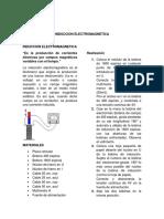 INDUCCION ELECTROMAGNETICA