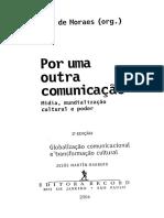 Globalização Comunicacional e Transformação Cultural