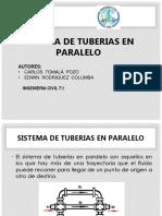 Tuberias en Paralelo