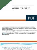 4. Que Son Programas Educativos (1)