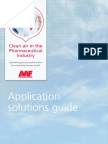 AAF Pharmaceutical Brochure  - Clean air in the Pharmaceutical Industry