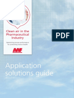 AAF Pharmaceutical Brochure  - Clean air in the Pharmaceutical Industry
