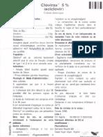 Notice Clovirax 0.05 Creme Derm. t 2g Et t 10g