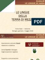 Linguistica - Corso Base Lezione 1