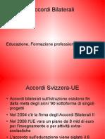 Bilaterali - Educazione, formazione professionale