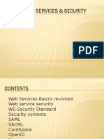 Web Services XML WS Security Architectures