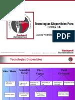 2 Tecnologías Disponibles Drives