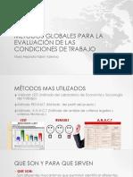Métodos Globales Para La Evaluación de Las Condiciones ECCI