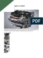 Honda V8 F1 Engine
