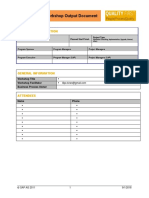 END to END EPM BPC Workshop Schedule Template
