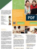 Folder Generalisierte Pflegeausbildung