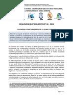 COMUNICADO OFICIAL ENFEN N° 06 - 2013
