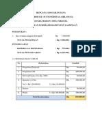 Rencana Anggaran Dana Kkn