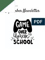 sept 2018 newsletter